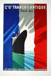 Paul-Colin-French-Line-Original-Vintage-Poster-Rare-Art-Deco567