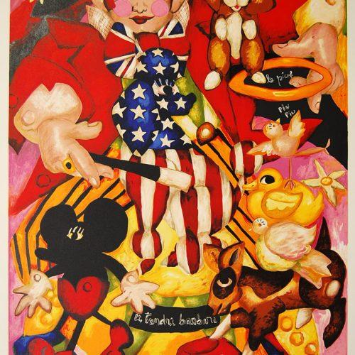 Ernesto-LE-CIRQLEL-AMERICIAN-Signed-Original-Art-Lithograph-960