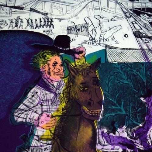Warrington-Colescott-George-the-Wonder-Horse786