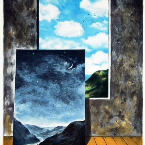 Surrealist Fantasy Abstract