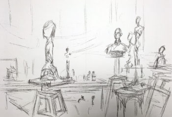 Alberto-Giacometti-Studio-with-Sculptures-159-Derriere-Le-Miroir-1961-Lithograph12172018-(1)