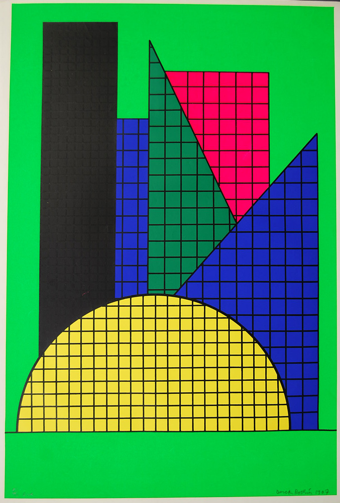 Derek-Boshier-ONE-1967-Original-Print-Signed-Silkscreen-130