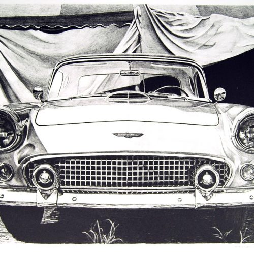 james farrah classic car print