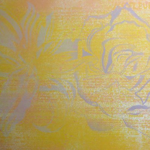 Lowell-Nesbitt-Fleur-de-Mal-1974-Original-Print-Signed-Silkscreen472