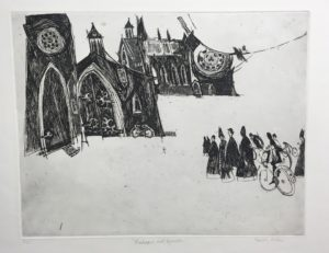 revor-Allen-Bishops-and-Bicycles-1968-Original-Print-Etching-and-Drypoint20171109_0289