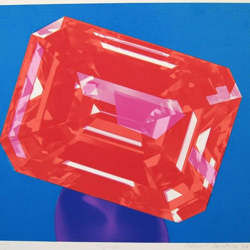 Richard-Bernstein-Ruby-1978-Art-Print-Silkscreen305