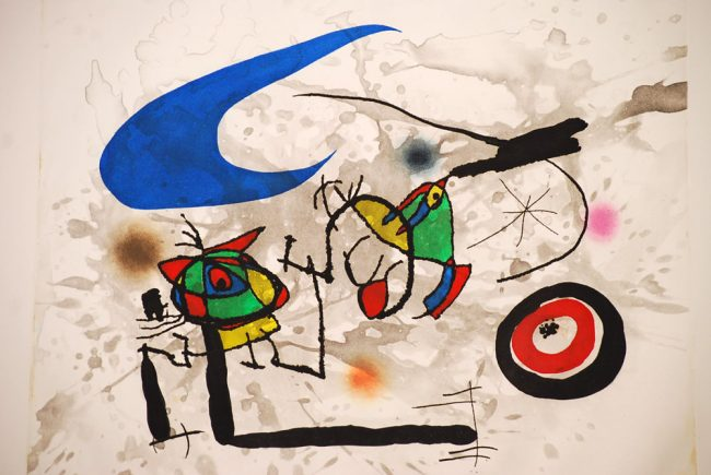 Joan Miro Pygmees print