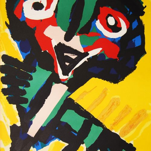 Karel-Appel-Face-Lithograph-Dedication-Adam513