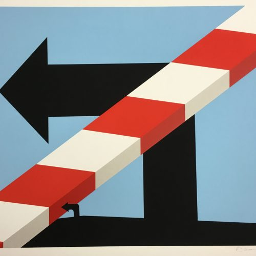 Allan-D'Arcangelo-Signed-Art-Silkscreen-US-Highway-#1-1978-Original687