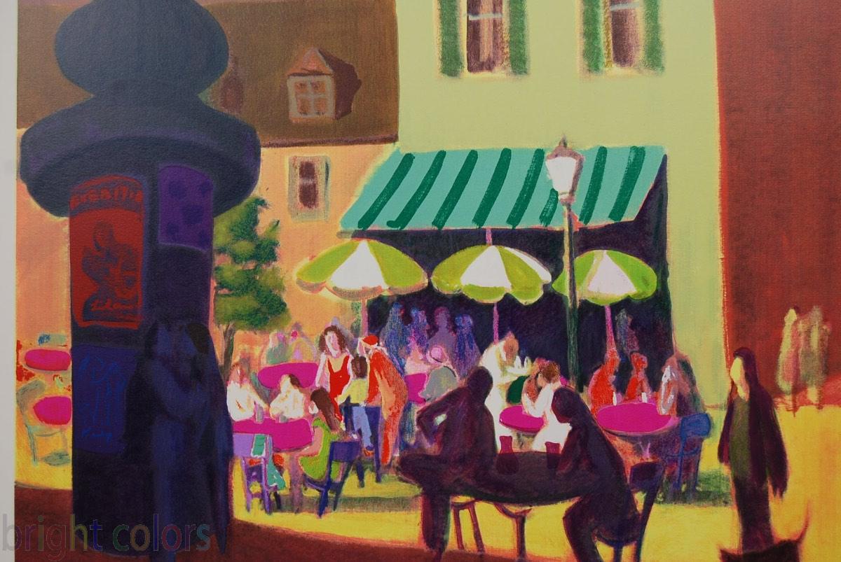 Gustav Likan Cafe in Paris624