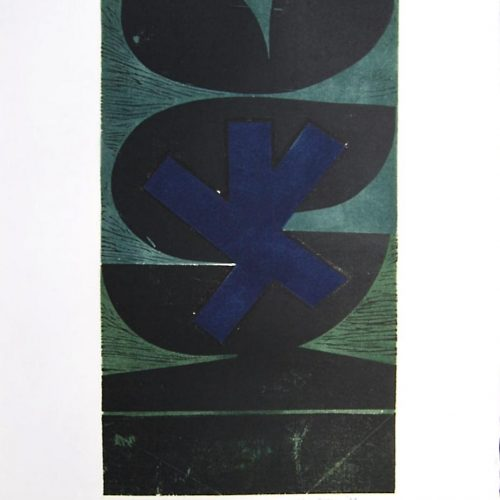 Peter-Green-Midnight-Flower-Print-1968-16-x-28-Signed-in-pencil-titled-dated-and-marked109