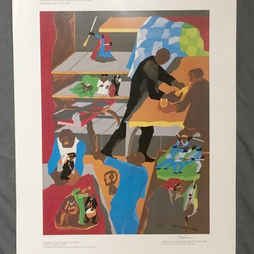 Jacob-Lawrence-Signed-Exhibition-Poster-Memorabilia-African-American-Artists-1980-Vassar-College-Art-Gallery05172018-(4)