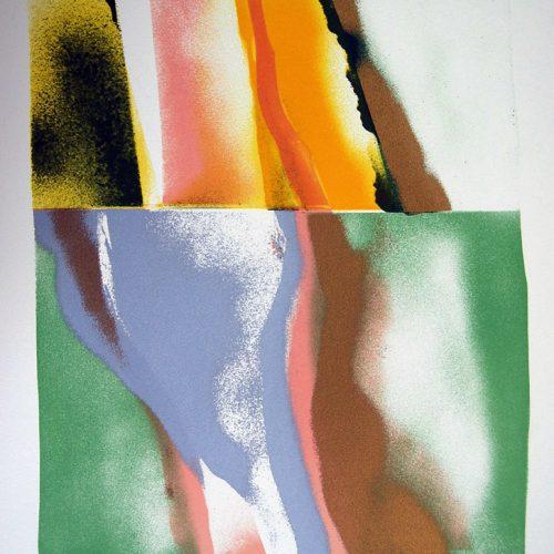 John-Chamberlain-Original-Hand-Signed-Rare-Silkscreen-Flashback-VI-407