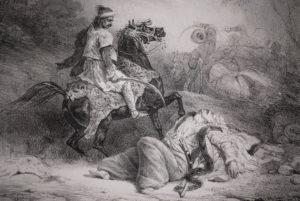 Theodore-Gericault-Le-Giaour-The-Infidel-1823-Original-Lithograph895
