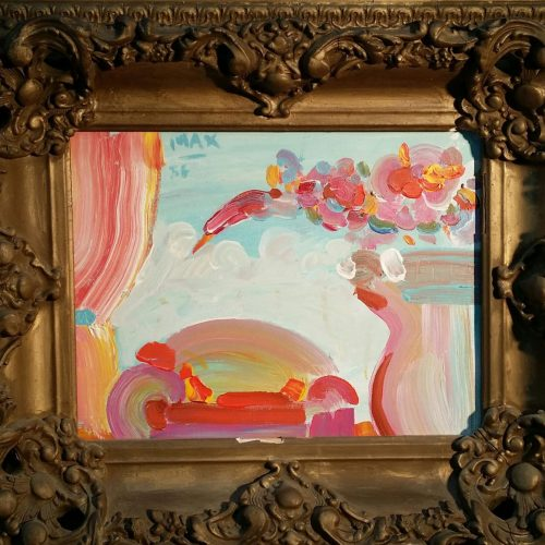 Peter Max 9 x 12 in Frame 3 Resized