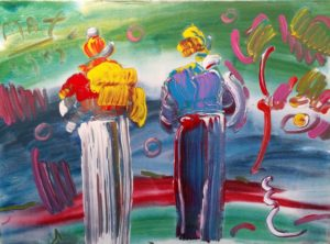 Peter Max Two Monks 1 Resized