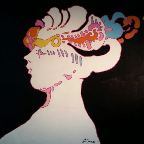 Peter Max White Face 1 Resized