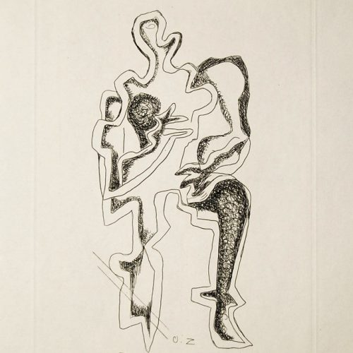 Ossip-Zadkine-Etching-on-Hand-Made-Paper-Plate-Signed-1960_20170328_5755