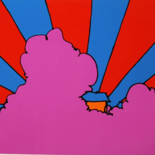 Peter-Max-House-In-the-Clouds-91-0932
