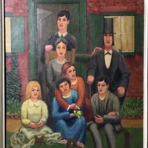 Horace-Brodzky-The-Anniversary-Group-Painting-Signed-192520171012_00272
