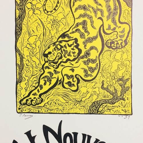 Paul Ranson Tiger Poster