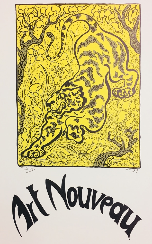 Paul Ranson Tiger Poster