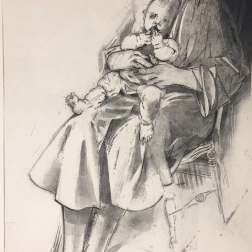 Andrew-Rush-Signed-Etching-Mother-And-Child09042018-(6)