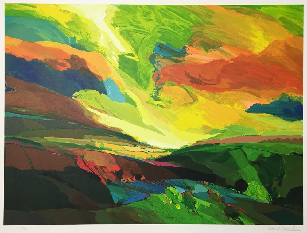 David-Leverett-1991-Greenfields-Limited-Edition-Signed-Lithograph-British-Expressionist1450-(1)