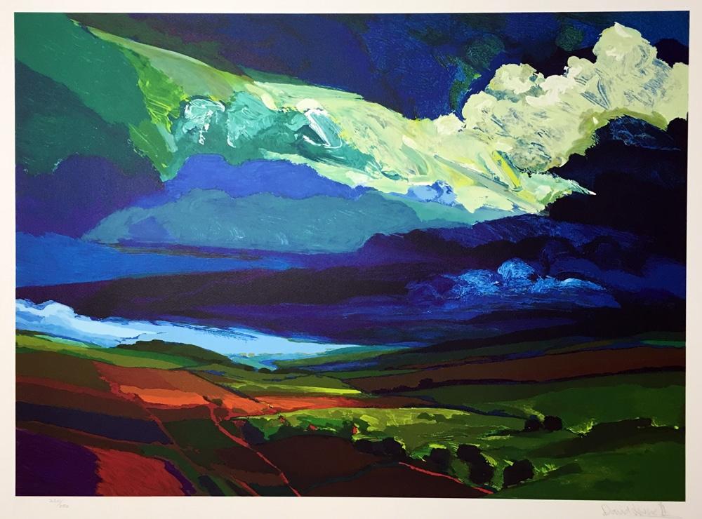 David-Leverett-1991-Landlines-Limited-Edition-Signed-Lithograph-British-Expressionist1752-(2)