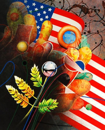 Yankel-Ginzburg-Birth-of-a-Nation-Original-Signed-Art-380442175003