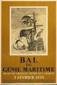 Pieter-Bruegel-Bal-de-Genie-Maritime-Poster-Art-1955-380429060774
