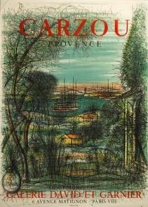 CARZOU-Galerie-David-Et-Garnier-Original-Poster-Art-190683103447