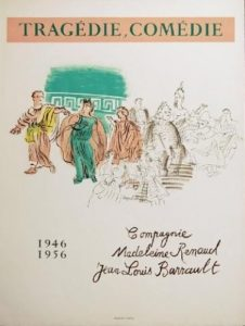 Raoul-Dufy-Tragedie-Comedie-Original-Poster-Art-1956-380429060787