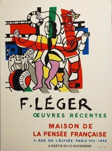 Fernand-Lger-Oeuvres-Recentes-Poster-Art-1954-380442175018