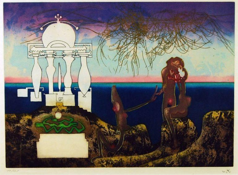 Roberto-Matta-6-am-larc-obscur-des-heures-1975-Etching-with-Aquatint-191197810978